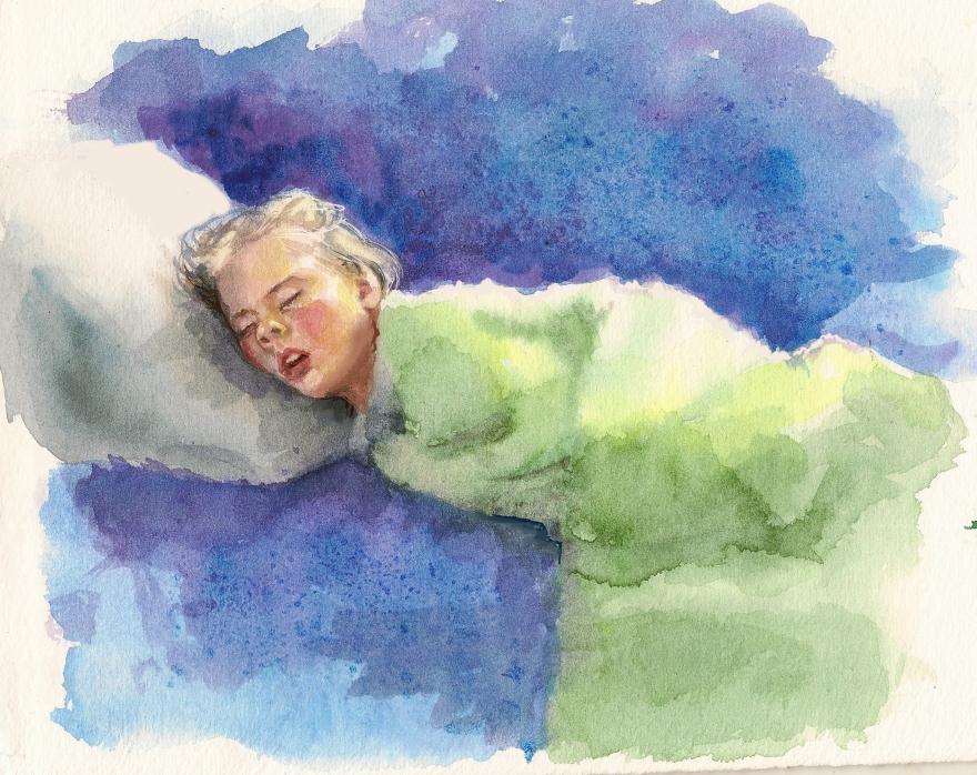 addy-sleeping