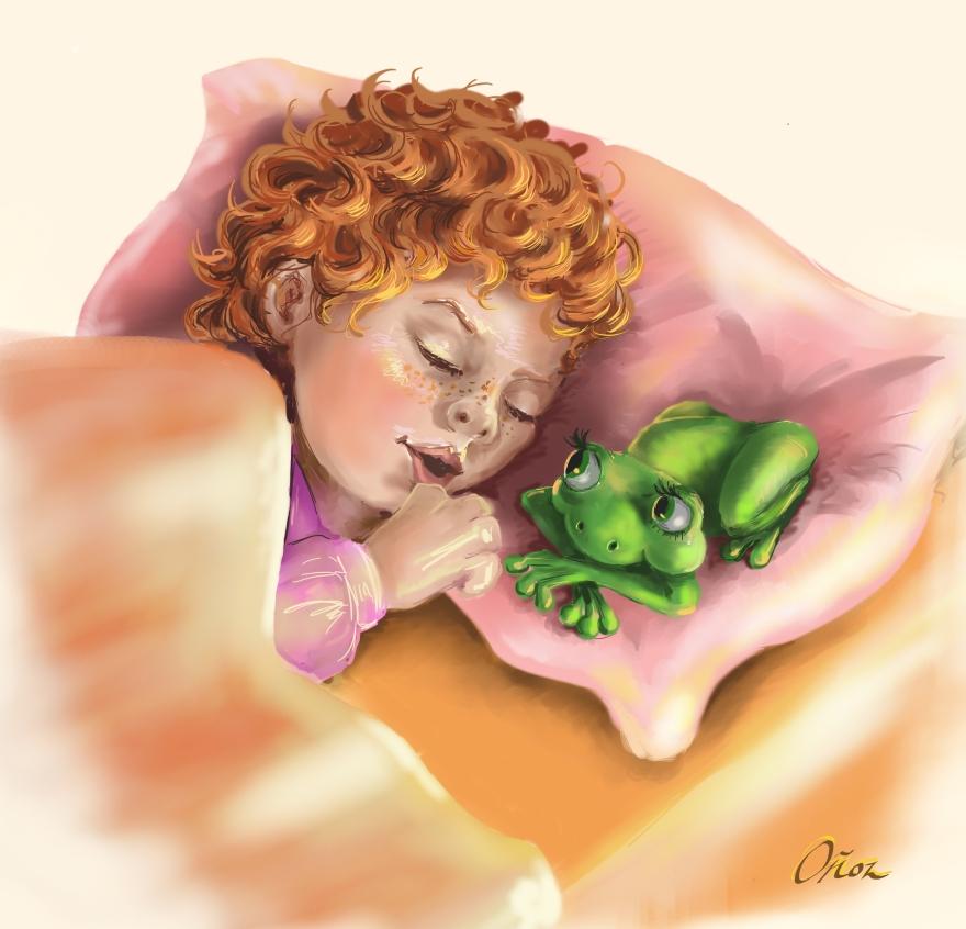 serenity-and-frog-sleeping